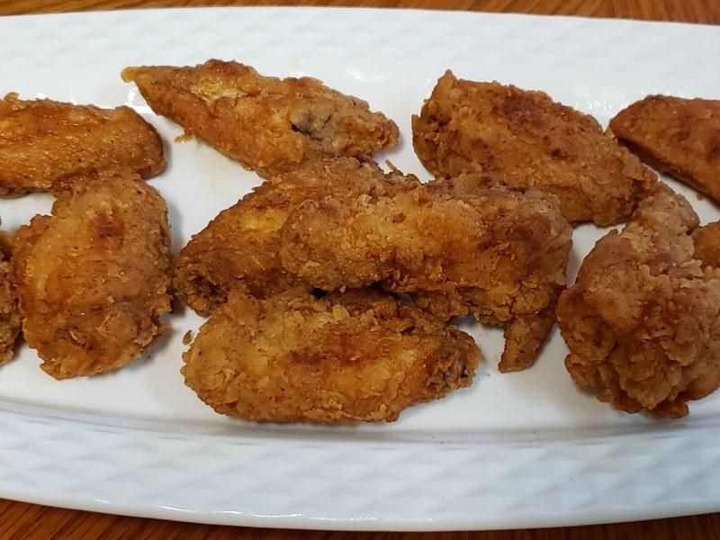 Breaded Chicken Wings